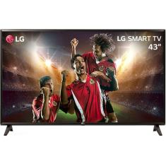"Foto Smart TV LED 43"" LG ThinQ AI Full HD 43LK5700PSC 2 HDMI"