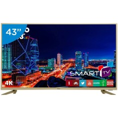 "Foto Smart TV LED 43"" Philco 4K PTV43F61DSWNC 3 HDMI"