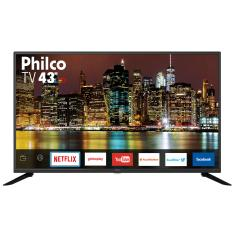 "Smart TV TV LED 43"" Philco Full HD Netflix PTV43G50SN 3 HDMI"