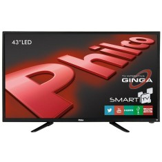 "Foto Smart TV LED 43"" Philco Full HD PH43N91DSGW 2 HDMI LAN (Rede)"