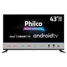 "Smart TV TV LED 43"" Philco Full HD PTV43AGCG70BLF 2 HDMI"