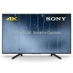 "Foto Smart TV LED 43"" Sony 4K KD-43X705F 3 HDMI"