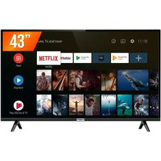 "Smart TV LED 43"" TCL Full HD HDR 43S6500 2 HDMI"