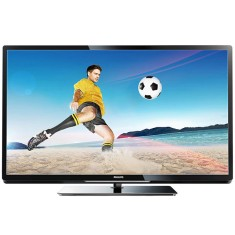 "Foto Smart TV LED 47"" Philips Série 4000 Full HD 47PFL4007G/78 3 HDMI"
