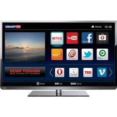 "Foto Smart TV LED 48"" Semp Toshiba Full HD 48L5400 3 HDMI MHL"