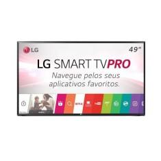 """Smart TV LED 49"""" LG Full HD 49LJ551C 2 HDMI"""