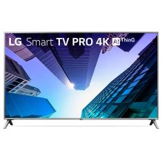 """Smart TV LED 49"""" LG ThinQ AI 4K 49UK631C 3 HDMI"""