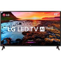 "Smart TV LED 49"" LG ThinQ AI Full HD HDR 49LK5700PSC"