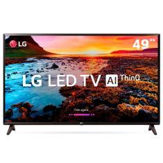 """Smart TV LED 49"""" LG ThinQ AI Full HD HDR 49LK5750PSA"""