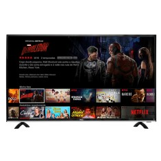 "Foto Smart TV LED 49"" Philco 4K PTV49F68DSWN 3 HDMI"