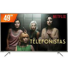 "Smart TV LED 49"" Toshiba 4K 49U7800 3 HDMI"