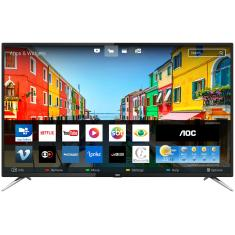 "Foto Smart TV LED 50"" AOC 4K LE50U7970S 4 HDMI"