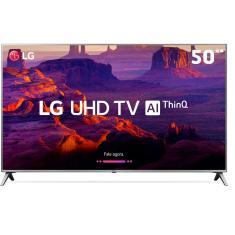 """Smart TV LED 50"""" LG ThinQ AI 4K HDR 50UK6520PSA"""