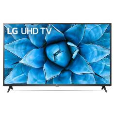 "Smart TV TV LED 50"" LG ThinQ AI 4K HDR 50UN7310PSC 3 HDMI"