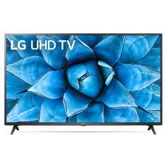 "Smart TV TV LED 50"" LG ThinQ AI 4K HDR 50UN7310PSC 4 HDMI"