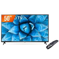 "Smart TV TV LED 50"" LG ThinQ AI 4K HDR 50UN731C 3 HDMI"