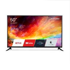 """Smart TV TV LED 50"""" Multilaser 4K TL019 3 HDMI"""
