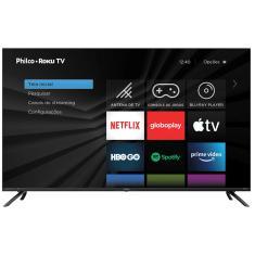 """Smart TV TV LED 50"""" Philco 4K HDR PTV50RCG70BL 3 HDMI"""