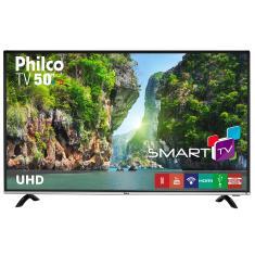 """Smart TV LED 50"""" Philco 4K HDR PTV50F60SN 3 HDMI"""