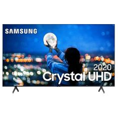 "Smart TV TV LED 50"" Samsung Crystal 4K HDR UN50TU7000GXZD 2 HDMI"