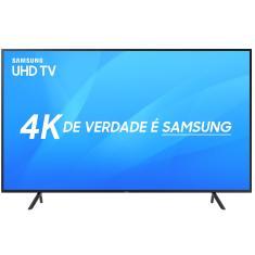 """Smart TV LED 50"""" Samsung Série 7 4K HDR 50NU7100"""