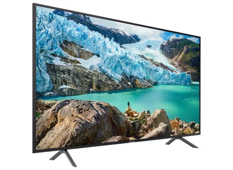 """TV 50"""" 4K 3 HDMI Samsung Série 7 UN50RU7100GXZD Economize Com Bondfaro"""