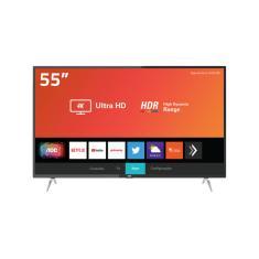 "Smart TV TV LED 55"" AOC 4K HDR 55u6295 3 HDMI"