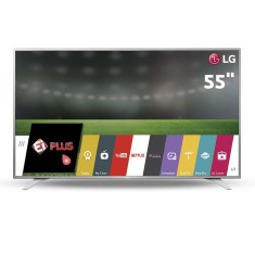 "Foto Smart TV LED 55"" LG 4K HDR 55UH6500 3 HDMI"