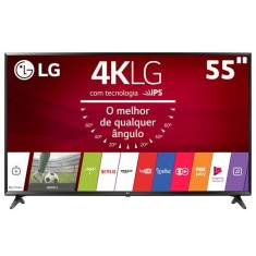"Foto Smart TV LED 55"" LG 4K 55UJ6300 3 HDMI"
