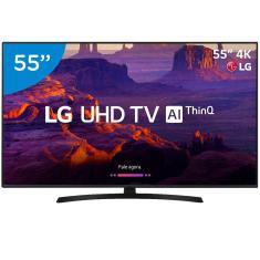 """Smart TV LED 55"""" LG ThinQ AI 4K HDR 55UK631C"""