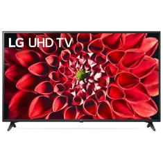 "Smart TV TV LED 55"" LG ThinQ AI 4K HDR 55UN7100PSA 3 HDMI"