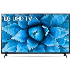 "Smart TV TV LED 55"" LG ThinQ AI 4K HDR 55UN7310PSC 3 HDMI"