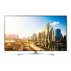 "Foto Smart TV LED 55"" LG ThinQ AI 4K 55SK8500PSA HDMI"