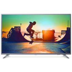 "Smart TV LED 55"" Philips 4K 55PUG6513 3 HDMI LAN (Rede)"