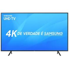 "Foto Smart TV LED 55"" Samsung 4K HDR 55NU7100 3 HDMI"