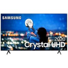 "Smart TV TV LED 55"" Samsung Crystal 4K HDR UN55TU7000GXZD 2 HDMI"