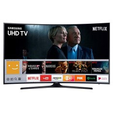 "Foto Smart TV LED 55"" Samsung Série 6 4K HDR 55MU6300"
