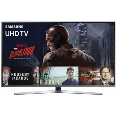 "Foto Smart TV LED 55"" Samsung Série 6 4K HDR UN55KU6400"