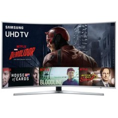 "Foto Smart TV LED 55"" Samsung Série 6 4K HDR UN55KU6500"