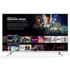 "Smart TV LED 55"" Semp 4K HDR 55K1US 3 HDMI"