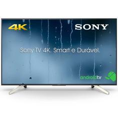 "Smart TV LED 55"" Sony 4K HDR KD-55X755F 4 HDMI"