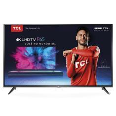 """Smart TV LED 55"""" TCL 4K HDR 55P65US 3 HDMI"""