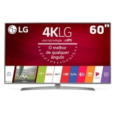 "Smart TV LED 60"" LG 4K HDR 60UJ6585 4 HDMI"