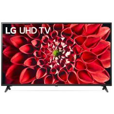 "Smart TV TV LED 60"" LG ThinQ AI 4K 60UN7310PSA 3 HDMI"