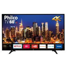 """Smart TV LED 60"""" Philco 4K PH60D16DSGWN 3 HDMI USB"""