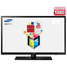 "Foto Smart TV LED 60"" Samsung Série 6 Full HD UN60H6103 2 HDMI"