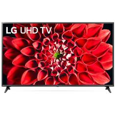 "Smart TV TV LED 65"" LG ThinQ AI 4K HDR 65UN7100PSA 3 HDMI"