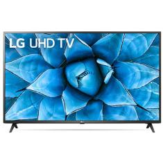 "Smart TV TV LED 65"" LG ThinQ AI 4K HDR 65UN7310PSC 3 HDMI"