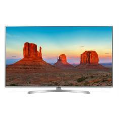"""Smart TV LED 65"""" LG ThinQ AI 4K HDR 65UK6540PSB"""