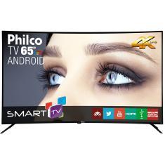 "Smart TV LED 65"" Philco 4K PTV65A16SA 3 HDMI"